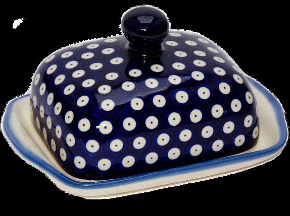 Керамическая масленка Polka Dot, фото 2