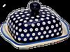 Керамическая масленка Polka Dot