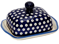 Керамическая масленка Polka Dot, фото 1