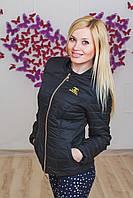 Курточка женская ШАНЕЛЬ черная, фото 1