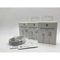 Oригинальный кабель шнур зарядка на для айфон iphone 5 6 7 8 Х Lightning  (MD818ZM/A) by apple store