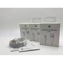 Оригінальний кабель шнур зарядка для айфон iphone 5 6 7 8 Х Lightning (MD818ZM/A) by apple store