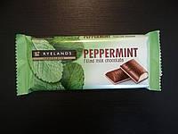 Шоколад молочный с мятой Peppermint Ryelands  100г Словения