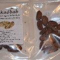 Какао боби не обсмажені 500 г/упаковка