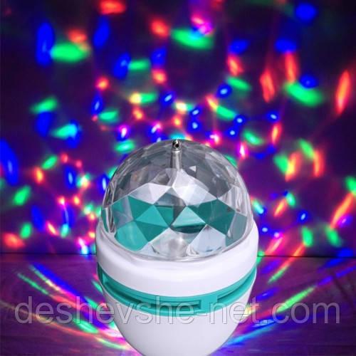 Светодиодная лампа украшающая помещение