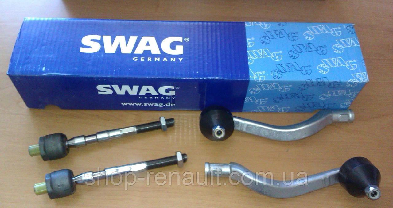 Наконечники рулевой тяги + тяги рулевые (комплект) SWAG Logan/MCV/Sandero