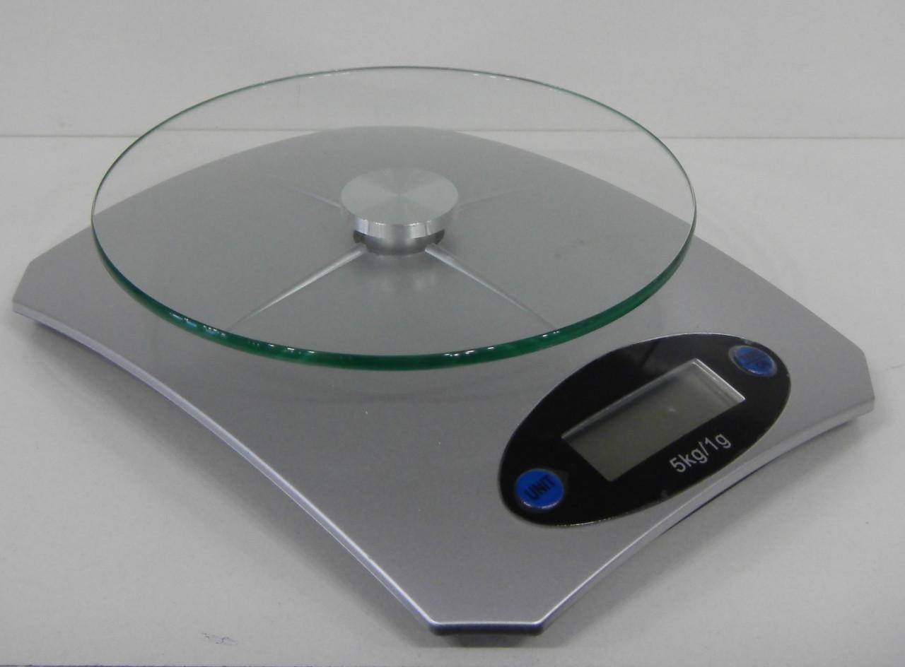 Кухонные весы с подставкой (стекло) > 5кг.