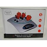 Кухонные весы с подставкой (стекло) > 5кг., фото 2