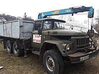 Грузоперевозки по Днепропетровску, кран-манипулятор