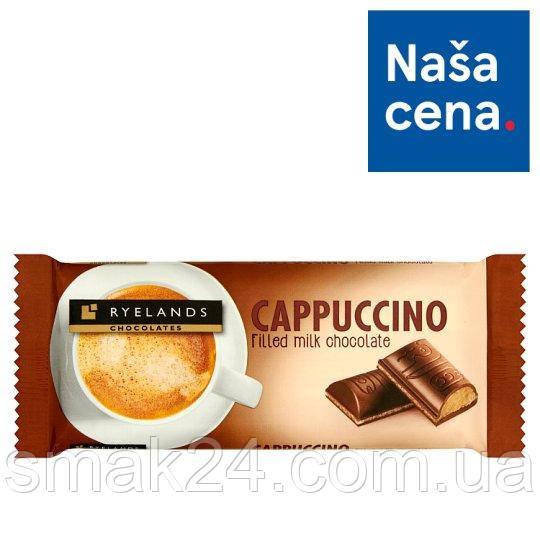 Шоколад молочный каппучино Cappuccino Ryelands  100г Словения