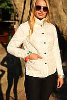 Короткая светлая курточка, фото 1