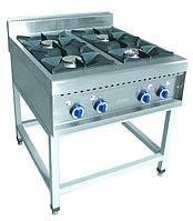 Газовая плита 4-х горелочная Abat ПГК-49П