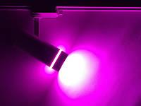 Фитосветильник трековый для растений 20W (full spectrum led) белый Код.59447