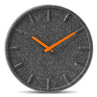 Часы настенные LT17003 wall clock felt35 orange hands LEFF amsterdam