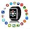 Умные смарт часы Smart Watch Phone GT 08 Смарт Вотч Bluetooth + POWER BANK В ПОДАРОК!, фото 10