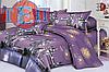 Постельное белье 3D сатин RestLine Тауэр двуспальный