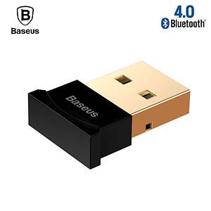 USB Mini Bluetooth адаптер Baseus беспроводной передатчик bluetooth 4.0 для компьютера CCALL-BT01 (Черный)