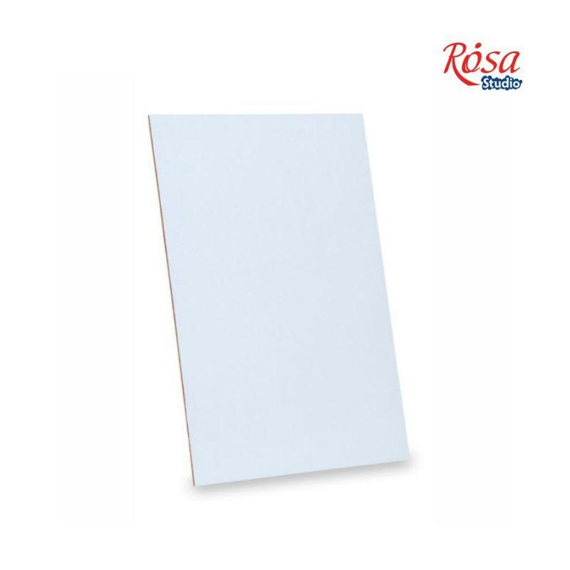 Картон грунтованный Rosa Studio 15x15 см акрил гладкая фактура 3 мм набор 5 шт (4820149875224)