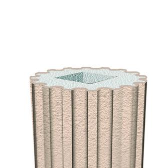 Тело колонны Prestige Decor LC103-21