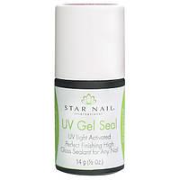 Финиш Star Nail UV Gel Seal без липкого слоя. 14 ml
