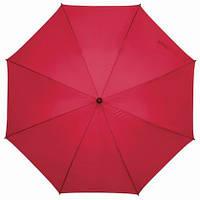 Зонт-трость FLORA с чехлом, 103 см, Красный