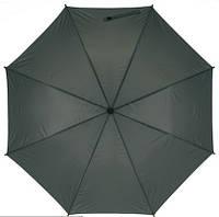 Зонт-трость FLORA с чехлом, 103 см, Серый