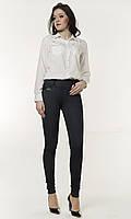 Повседневные молодежные лосины с кожаным карманом , фото 1