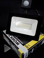 Прожектор LED WORKS 30W с датчиком движения и света