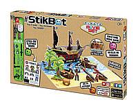Игровой набор для анимационного творчества Stikbot Остров сокровищ, фото 1