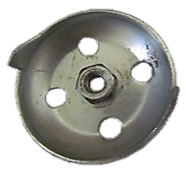 Храповик стартера круглый металлический