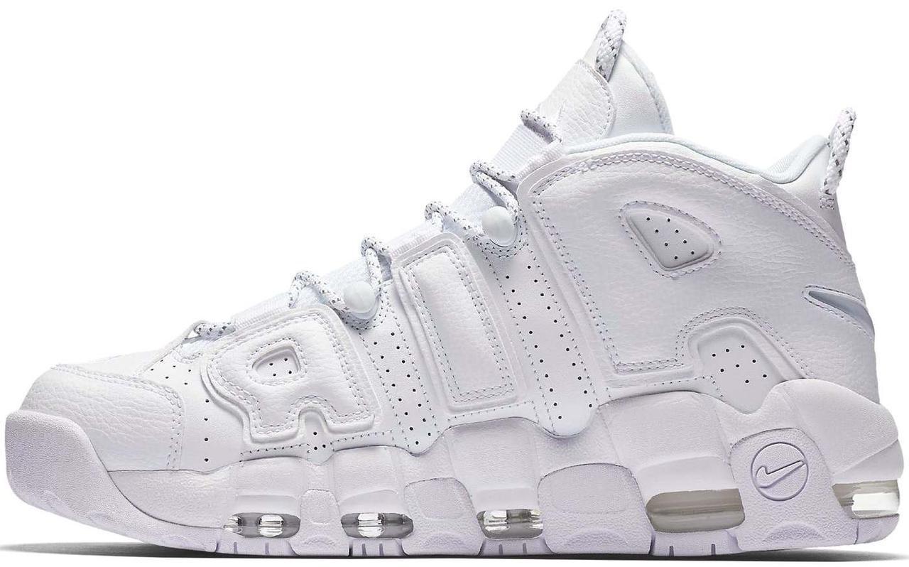 Мужские кроссовки Nike Air More Uptempo White