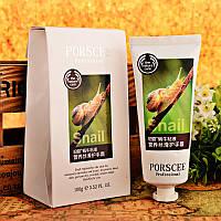 Увлажняющий и питательный крем для рук с экстрактом улитки Porscee Snail