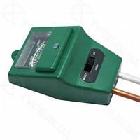 РН-метр/Влагомер/Люксметр для почвы (прибор 3 в 1) АМТ-100