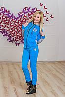 Спортивный костюм женский голубой, фото 1