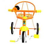 Трехколесный велосипед Profi Trike M 5335 Оранжевый, фото 2