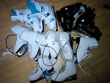 Новые женские-детские коньки спортивные фигурные Cup`s Размер 36-37, фото 3