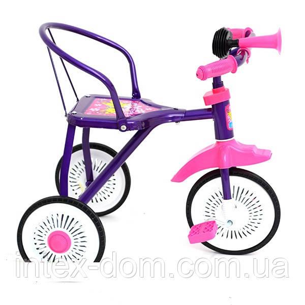 Трехколесный велосипед Profi Trike M 5335 Фиолетовый