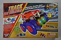 Набір Trix Trux Великий 38 деталей 1 машинка монстр-трак і повний комплект перешкод, фото 1