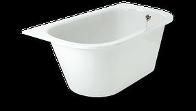 Прямоугольная ванна из литого камня Paa Vario