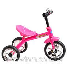 Триколісний велосипед Profi Trike М 2101 Рожевий
