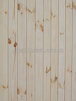 Вагонка деревянная сосна, ольха, липа Дружковка