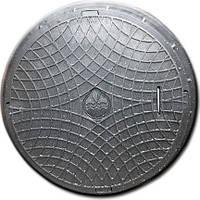 """Люк """"Акведук"""" полимерный чёрный (1т) р.560/730"""