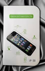 Захисне скло Anti Shatter Explosion-Proof Film Screen Protector для iPhone 5/5s