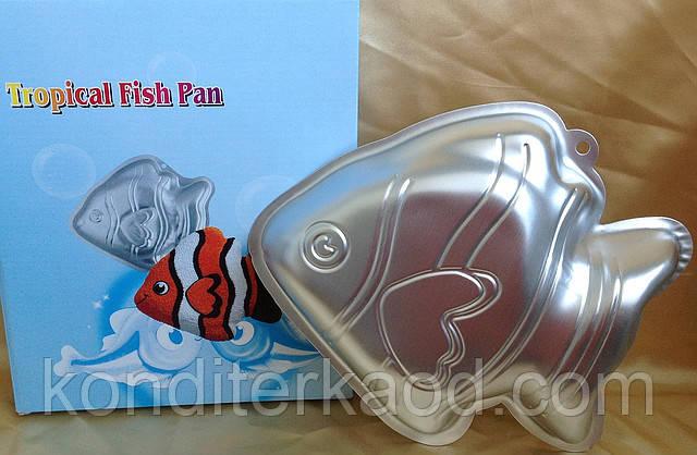 Форма для выпечки Рыбка (метал)