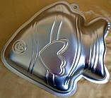 Форма для выпечки Рыбка (метал), фото 2