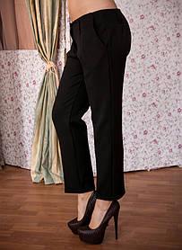 Молодежные женские брюки укороченные