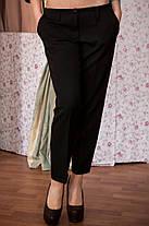 Молодежные женские брюки укороченные, фото 3