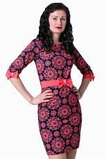 Элегантное платье с рукавом три четверти, фото 3