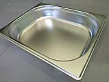 Гастроемкость из нержавеющей стали 1/2  h200 mm, фото 2