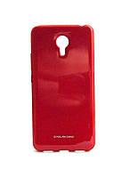 Чехол для Meizu M3 Note силикон красный